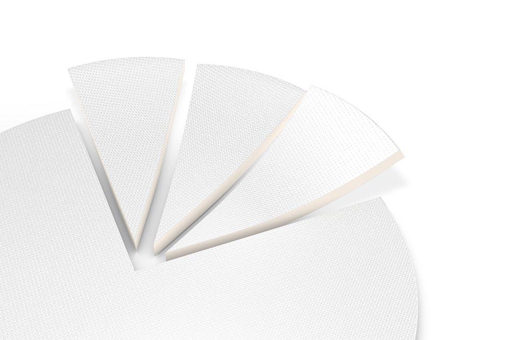 LIQUEEL<sup>®</sup> PT - Detailansicht Perforation und Schaumsegmente
